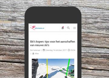 Complete vernieuwing Skiinformatie.nl
